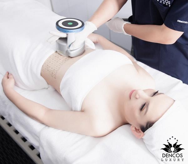 Công nghệ UltraShape Pro xử lýmỡ thừa và chảy xệ bằng nguyên lý năng lượng nhiệt sóng âm không cần phẫu thuật.