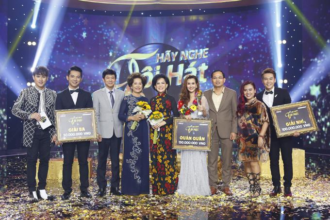 Đêm chung kết là cuộc tranh tài giữa 3 ca sĩ Võ Hạ Trâm, Mai Quốc Việt và Trần Vũ. Kết quả, Trần Vũ đoạt giải nhì còn Mai Quốc Việt đứng hạng ba.