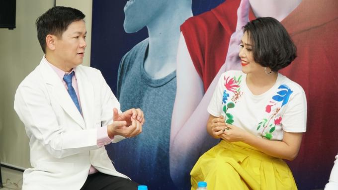 Tiến sĩ, bác sĩTú Dung chia sẻ về tình trạng của Khánh Du.