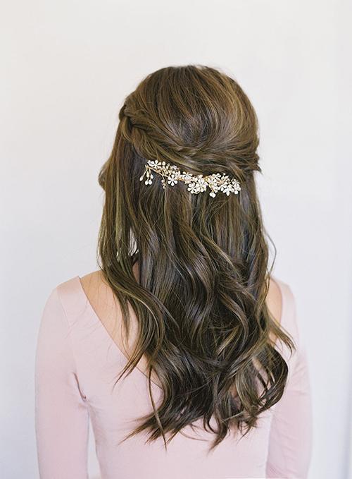 Những kiểu tóc vượt thời gian cho cô dâu - 2