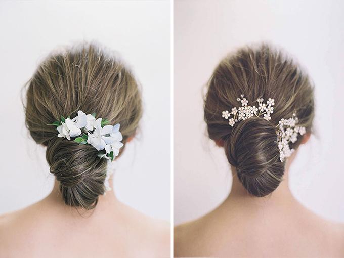 Những kiểu tóc vượt thời gian cho cô dâu - 5
