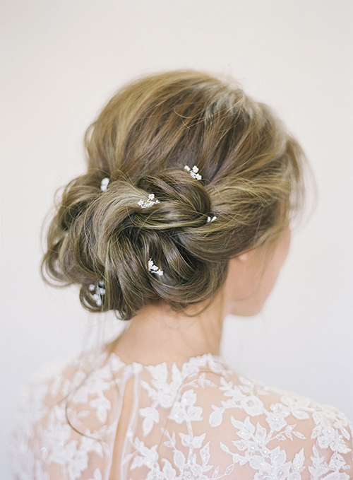 Những kiểu tóc vượt thời gian cho cô dâu - 4