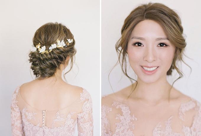 Những kiểu tóc vượt thời gian cho cô dâu - 3