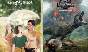 'Em gái mưa' đụng độ bom tấn 'Jurassic World' trong tháng 6/2018