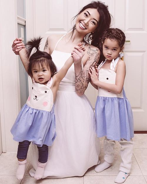 Bà mẹ gốc Việt nổi tiếng nhờ những bức ảnh chụp cùng con gái - 2