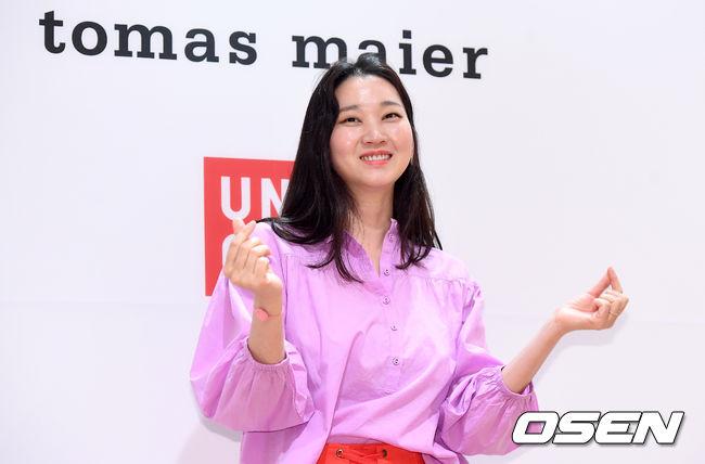 Dự sự kiện chiều qua còn có nhiều gương mặt quen thuộc của Kbiz như người mẫu Jang Yoon Ju...