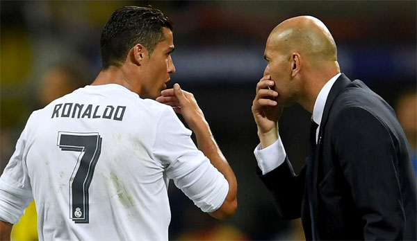 Zidane từ chức HLV Real Madrid - 1