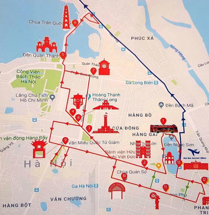 Đi bụi theo tour khám phá Hà Nội trong 24h
