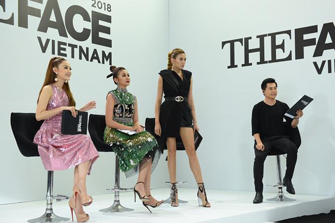 Phong cách thời trang trên ghế nóng của Minh Hằng và Võ Hoàng Yến ở ngày thứ 2 của The Face nhận được nhiều lời khen.