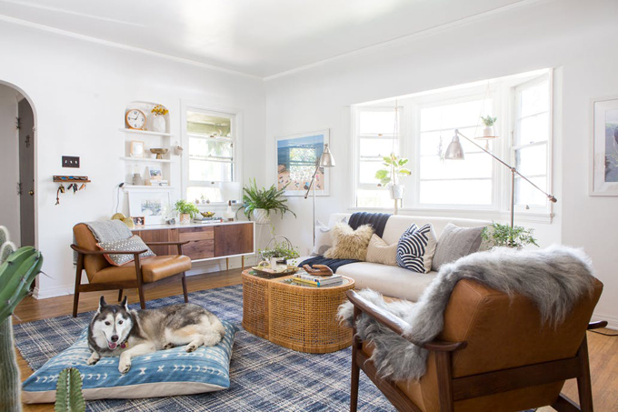 Ngôi nhà thuê phong cách boho của nữ blogger - 1