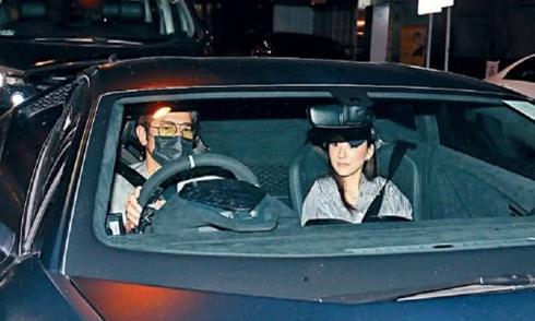 Quách Phú Thành lái siêu xe 15 tỷ đồng đưa bà xã đi ăn tối