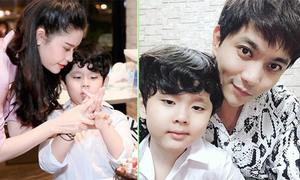 Trương Quỳnh Anh làm tiệc sinh nhật cho con trai
