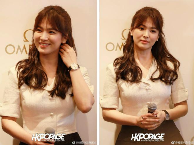 Song Hye Kyoăn gian chiều cao vớiđôi giày 11cm - 3
