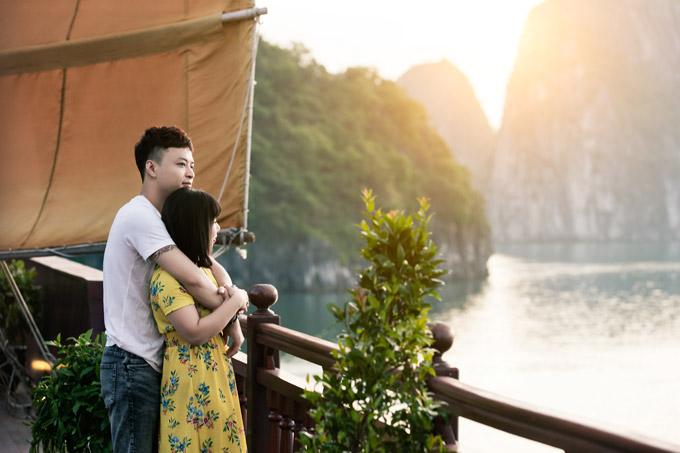Mạnh Trường, Hồng Đăng cùng vợ con nghỉ dưỡng trên du thuyền 5 sao - 9