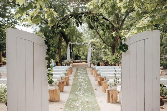 Những hôn lễ có ý tưởng tổ chức độc đáo không thể bỏ qua - 4