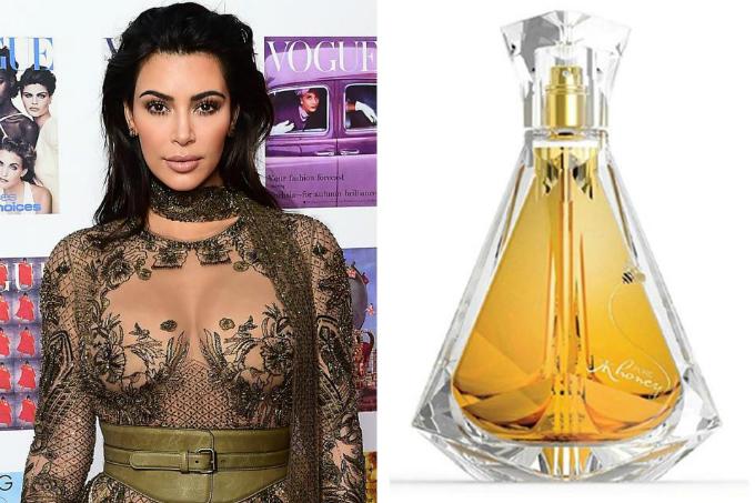 Nước hoa mùi mật ong với vỏ bóng bảy của Kim Kardashian. Ảnh: beautyheaven.