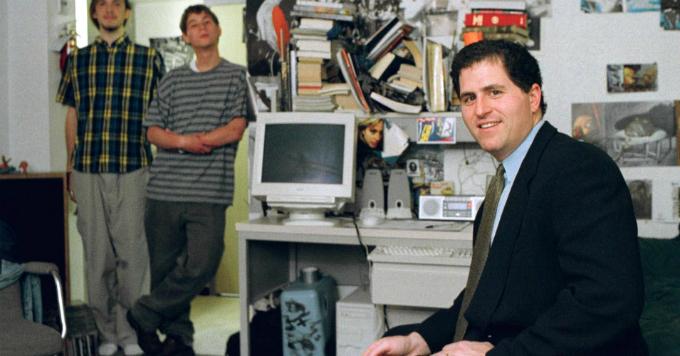 Căn phòng ký túc cho ra đời hãng máy tính Dell của chàng sinh viên y khoanăm 1984. Ảnh:CNBC.