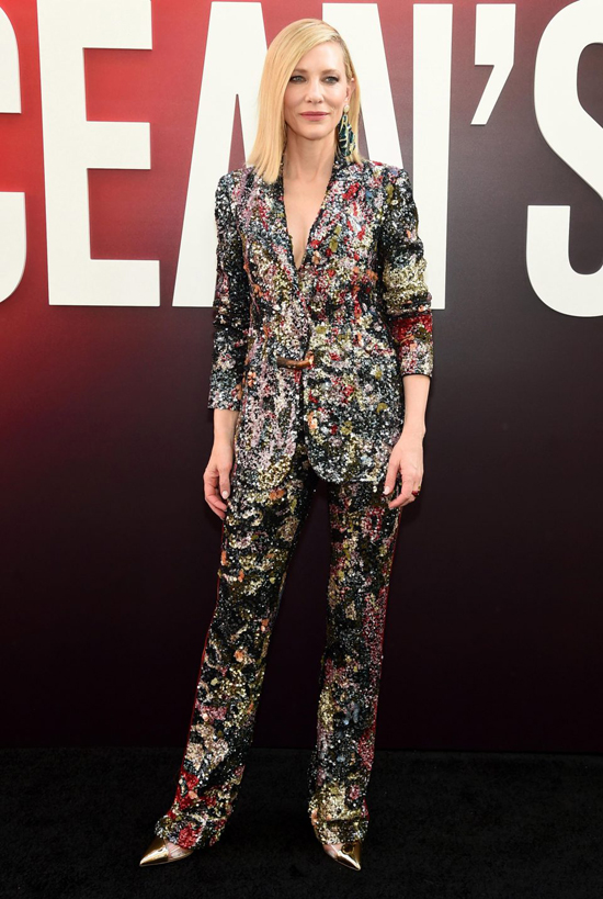 Minh tinh Cate Blanchett - một cộng sự của Sandra Bullock trong phim.