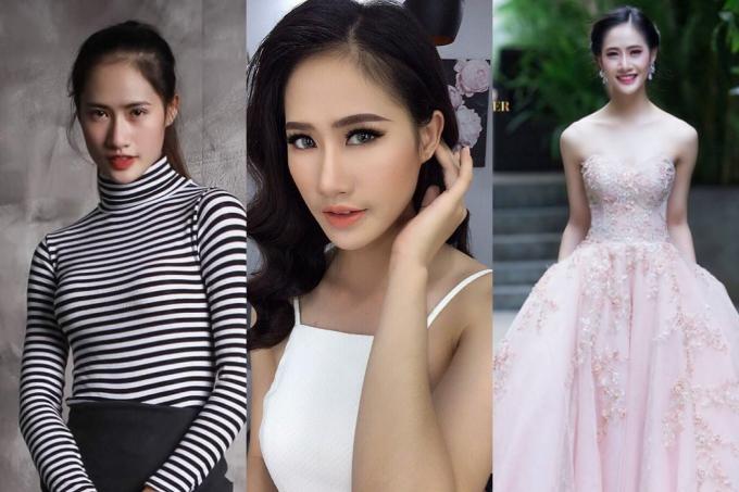 10. Lê Thị Hà Thu Chiêu từngchiến thắng Hoa khôi Đại học Kinh tế2017. Cô là em gái của người mẫu Hà Chiêu và có kinh nghiệm tham gia trình diễn, chụp ảnh thời trang.