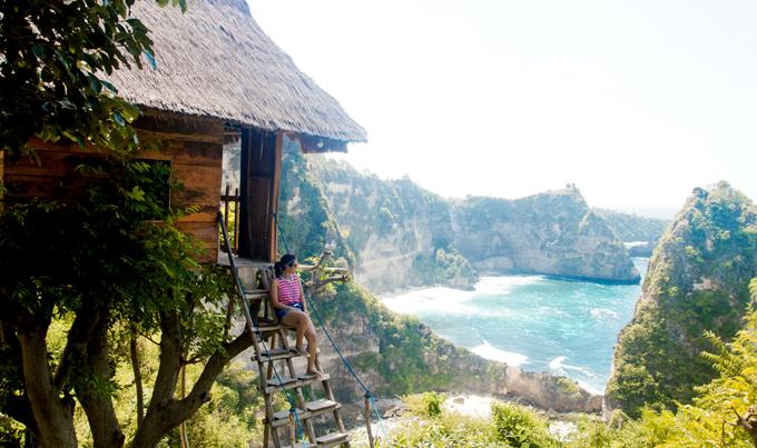 Hành trình của nữ du khách Việt tới căn nhà trên cây lãng mạn ở đảo Bali - 1