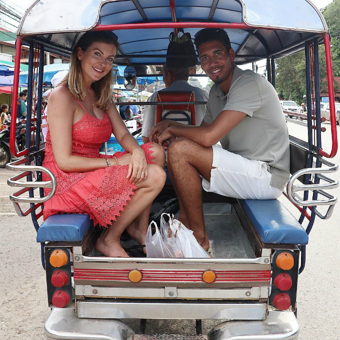 Chiang Rai, Thailand Only way to travel even if they dont make tuk tuks my size