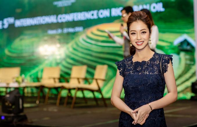 Hoa hậu Jennifer Phạm ưu tiên dùng dầu gạo trong chế biến món ăn - ảnh 6