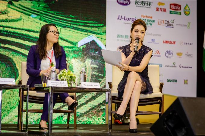 Hoa hậu Jennifer Phạm ưu tiên dùng dầu gạo trong chế biến món ăn - ảnh 3