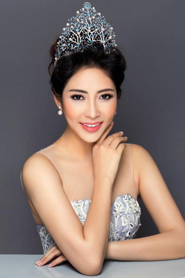 Hoa hậu Đại dương Đặng Thu Thảo.