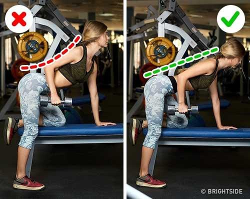 Tsai lầm chị em thường mắc phải khi tự tập gym - 4