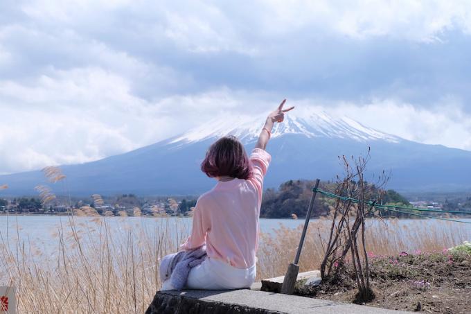 6 điểm chụp ảnh núi Phú Sĩ giống hệt postcard - ảnh 7