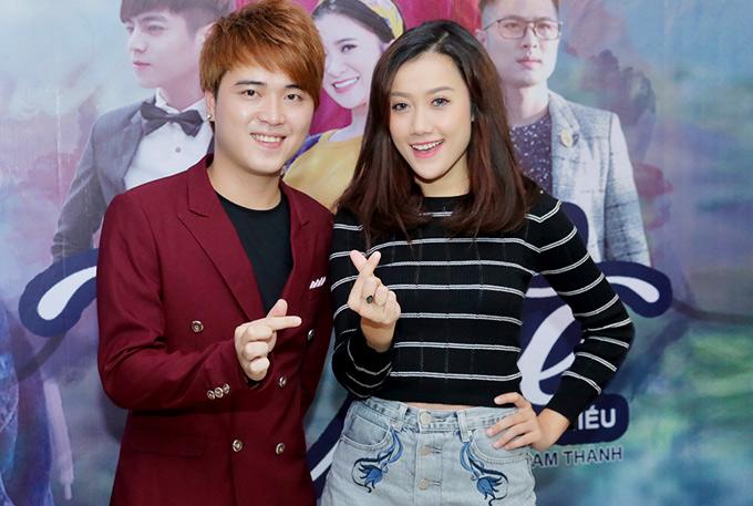 Diễn viên Kim Ngọc mặc giản dị đi sự kiện.