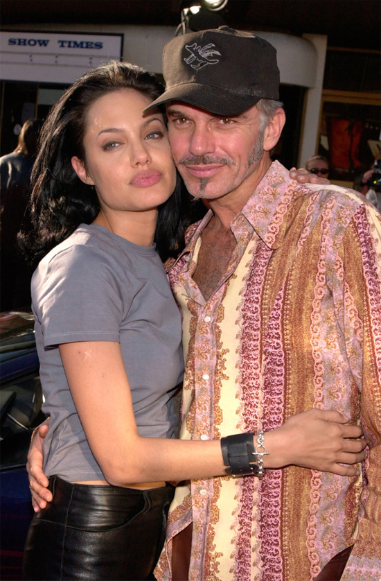 Angelina và Billy Bob Thornton.
