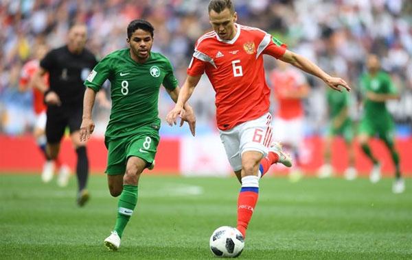 Hình ảnh: ĐT Nga đại thắng trận khai mạc World Cup 2018 số 1