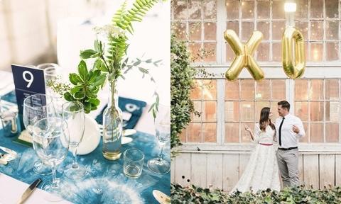 6 xu hướng trang trí tiệc cưới hiện đại không thể bỏ lỡ