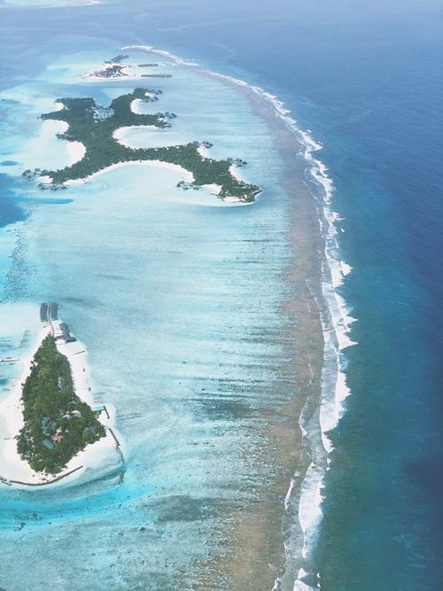 Quang Vinh lịm tim bởi khu resort nổi trên mặt biển ở Maldives