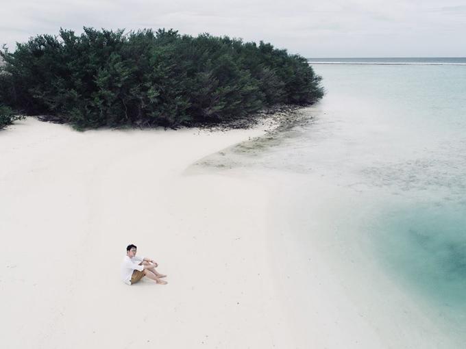 Quang Vinh lịm tim bởi khu resort nổi trên mặt biển ở Maldives - 13