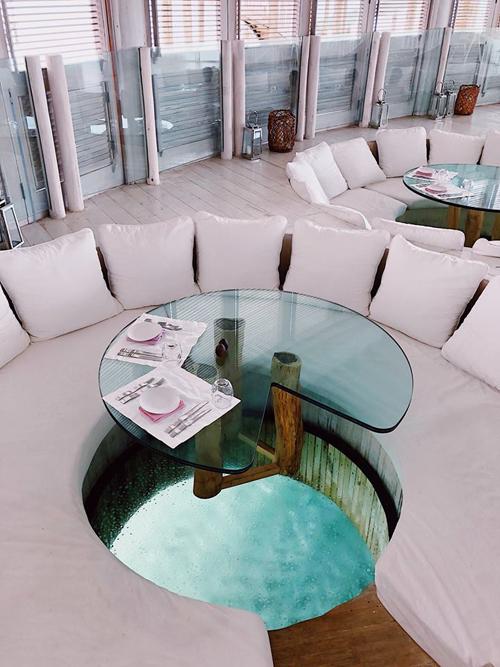 Quang Vinh lịm tim bởi khu resort nổi trên mặt biển ở Maldives - 15