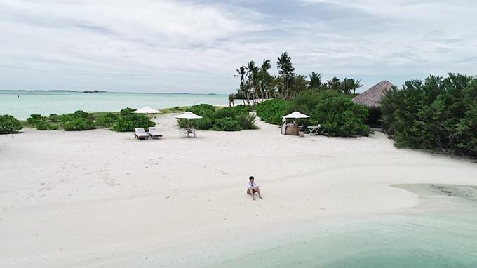 Quang Vinh lịm tim bởi khu resort nổi trên mặt biển ở Maldives - 17