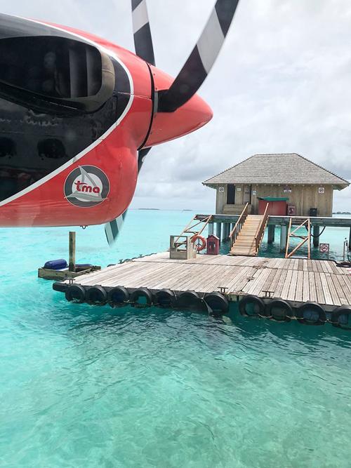 Quang Vinh lịm tim bởi khu resort nổi trên mặt biển ở Maldives - 21