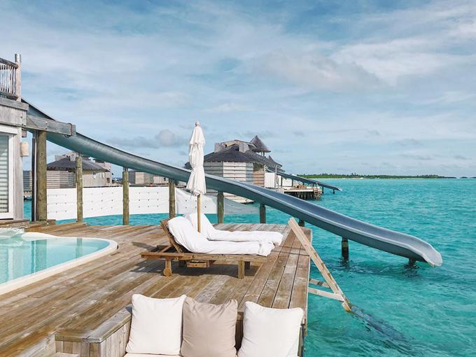 Quang Vinh lịm tim bởi khu resort nổi trên mặt biển ở Maldives - 4