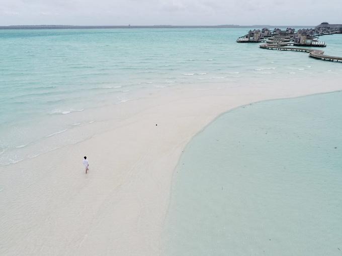 Quang Vinh lịm tim bởi khu resort nổi trên mặt biển ở Maldives - 7