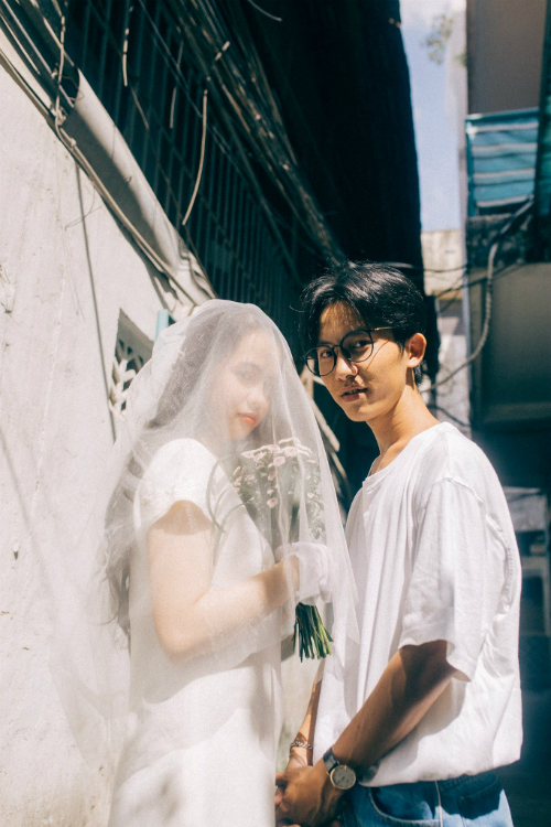 Ảnh cưới chụp tại chung cư cũ chất như phim Hồng Kông - 8