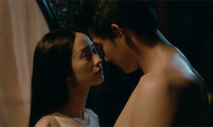 Jun Vũ có cảnh quay tình tứ với Quách Ngọc Ngoan trong 'Người bất tử'