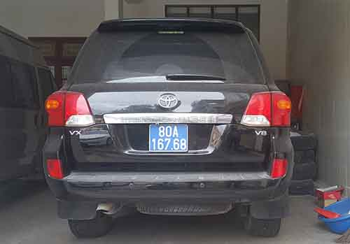 Chiếc Toyota Land Cruiser mà Nghệ An đã bán. Ảnh: Anh Thư.