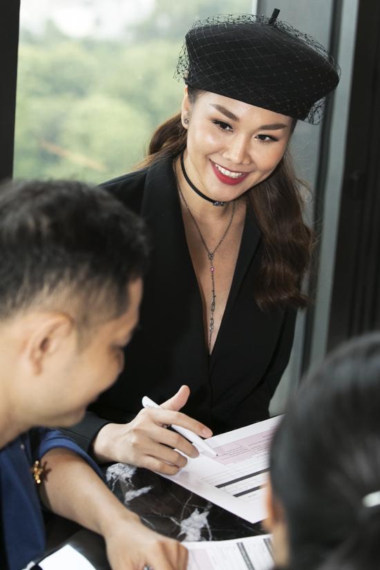 Góp mặt tại sự kiện, Thanh Hằng đóng vai trò là thành viên ban cố vấn.