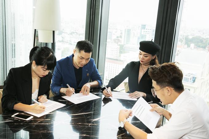 Ngay sau khi kết thúc buổi họp báo, Thanh Hằng đã có buổi làm việc cùng ban tổ chức về danh sách bình chọn các hạng mục của giải thưởng năm nay.