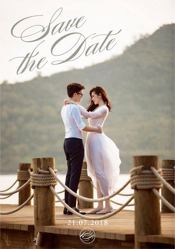 Tú Anh lần đầu công khai ảnh cưới lãng mạn bên chồng tương lai.