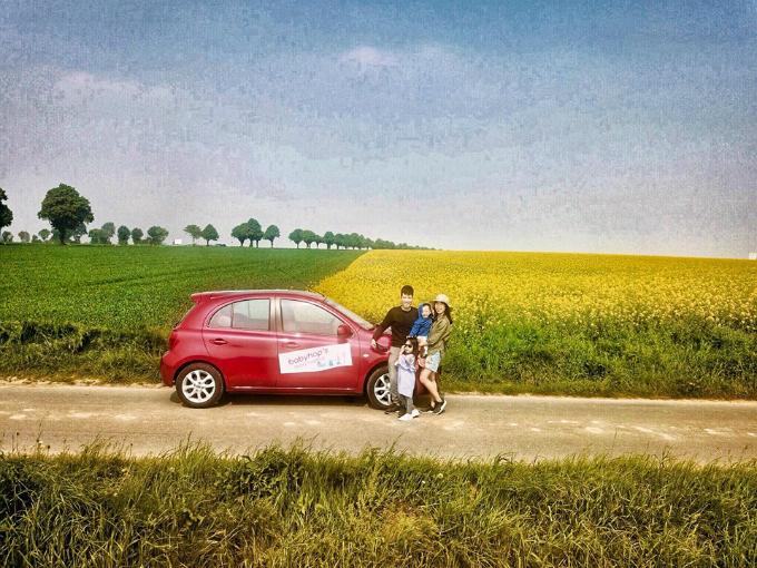 Hành trình tự lái xe đưa hai con đi khắp châu Âu của đôi vợ chồng Việt - 3