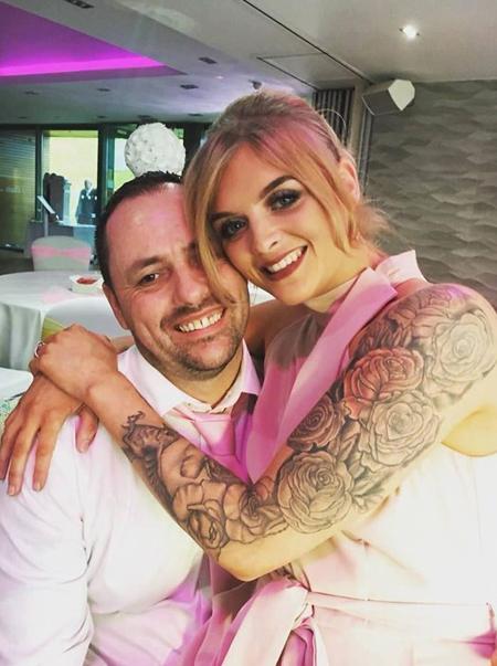 Cả hai quen nhau vài năm trước khi quyết định tiến tới hôn nhân. Ảnh: Facebook.