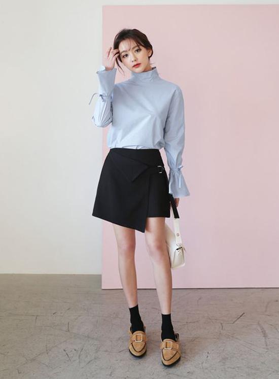 Phối váy ngắn cho ngày cuối tuần năng động - ảnh 10